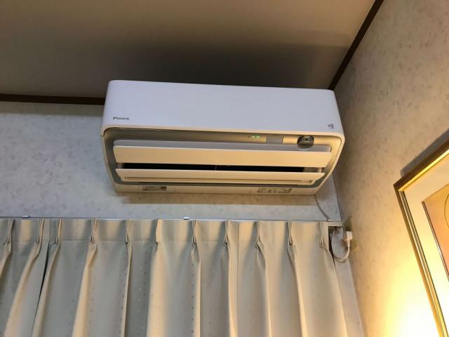 換気機能つきエアコン